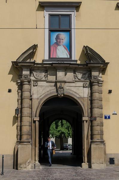 Pope John Paul II, local boys makes good.