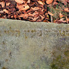 Krasnystaw field broken gravestone inscription