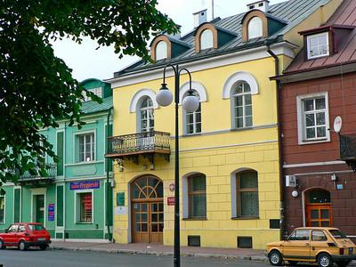 Krasnystaw downtown street