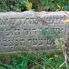 Krasnystaw field Shtitzer gravestone