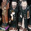 Jewish figurine w coin & money bag