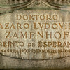 Esperanto creator gravestone