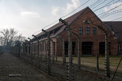 The Auschwitz Birkenau Concentration Camp in Krakow, Poland