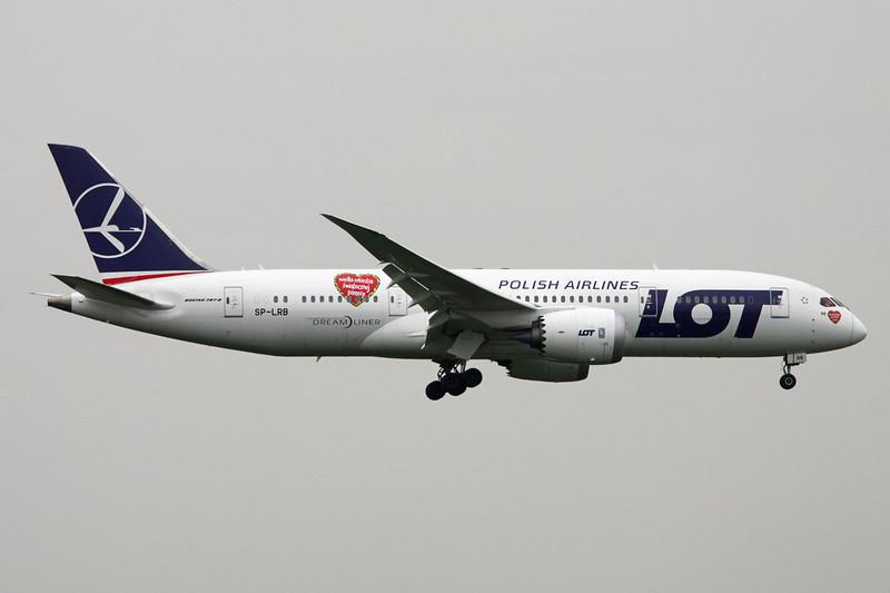 SP-LRB Boeing 787-8 c/n 37894 Brussels/EBBR/BRU 03-04-14
