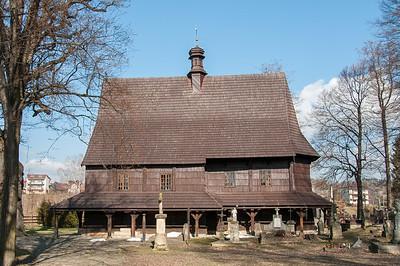 Saint Leonard Church in Lipnica Murowana in Poland