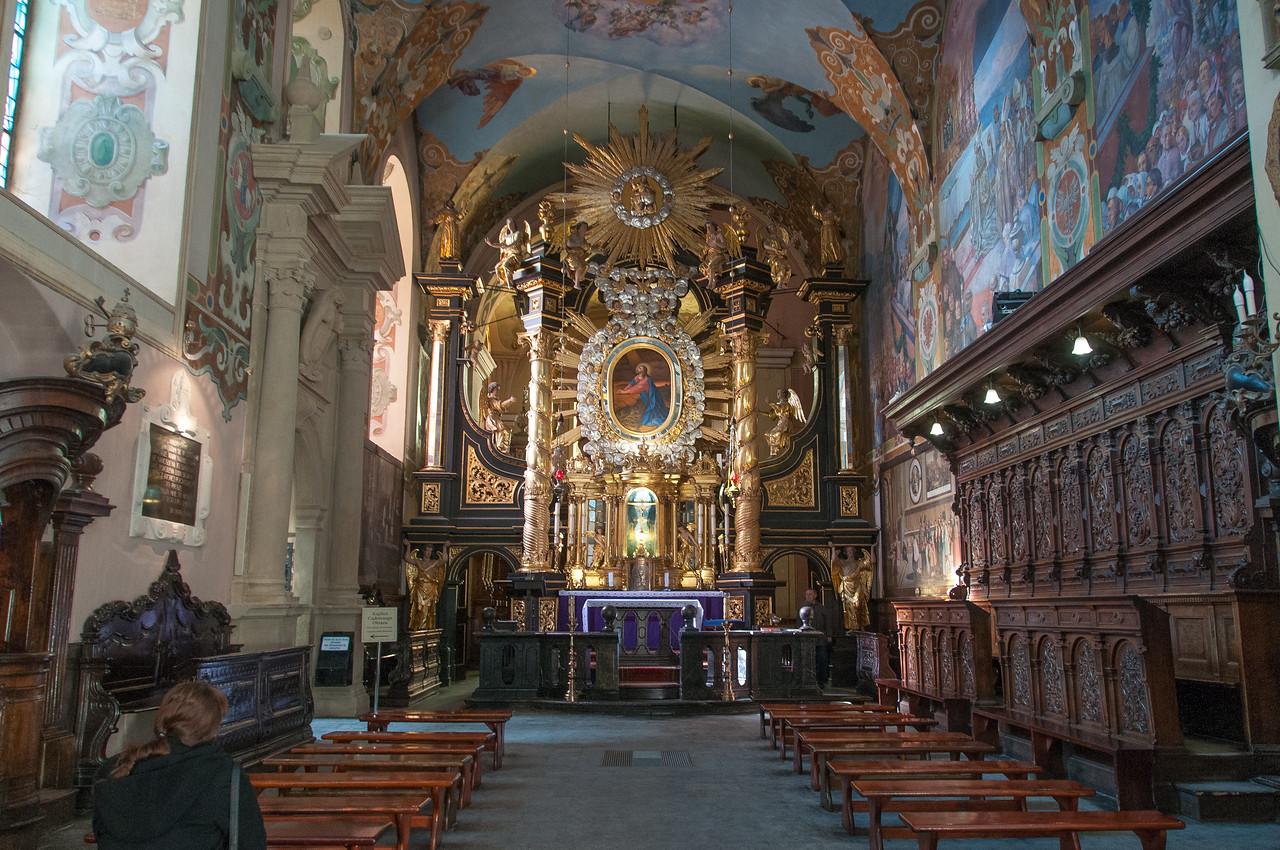 Inside the Monastery in Kalwaria Zebrzydowska - Poland