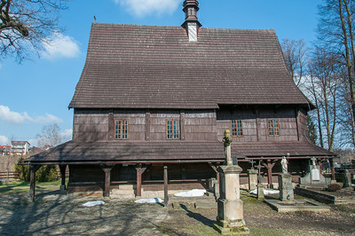 Saint Leonard Church in Lipnica Murowana in Poland