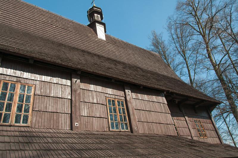 Details of Saint Leonard Church in Lipnica Murowana, Poland