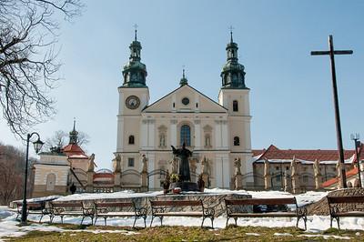 Monastery in Kalwaria Zebrzydowska park - Kalwaria, Poland