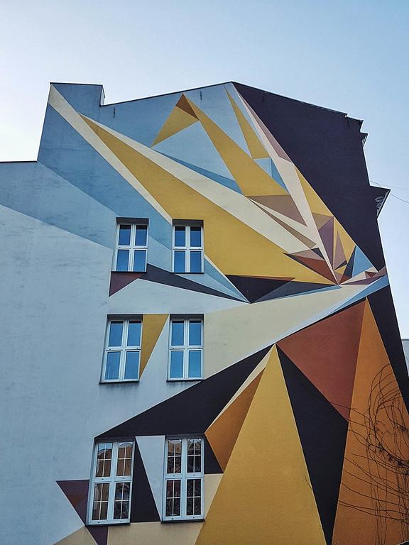 Pener mural in Lodz, Poland