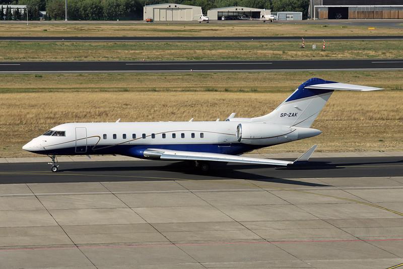 SP-ZAK Bombardier Global 5000 c/n 9219 Berlin-Texel/EDDT/TXL 22-08-18