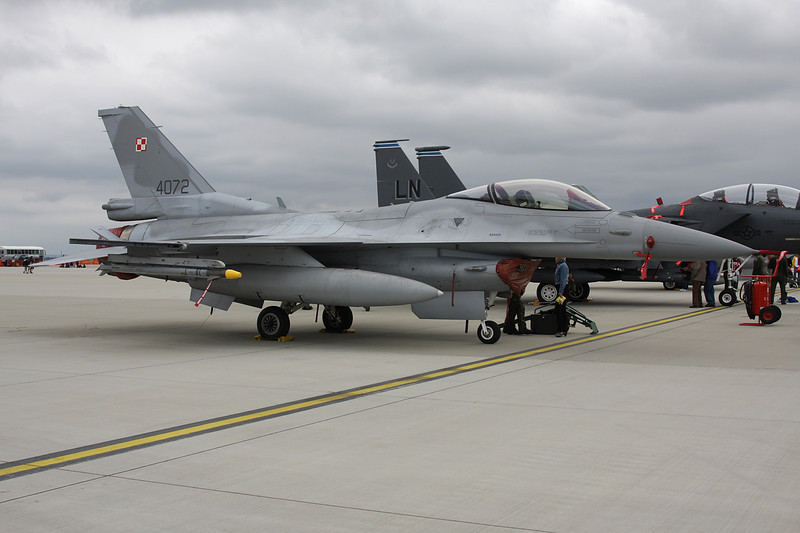 "4072 General Dynamics F-16C Fighting Falcon ""Polish Air Force"" c/n JC-33 Spangdehlem/ETAD/SPM 30-07-11"