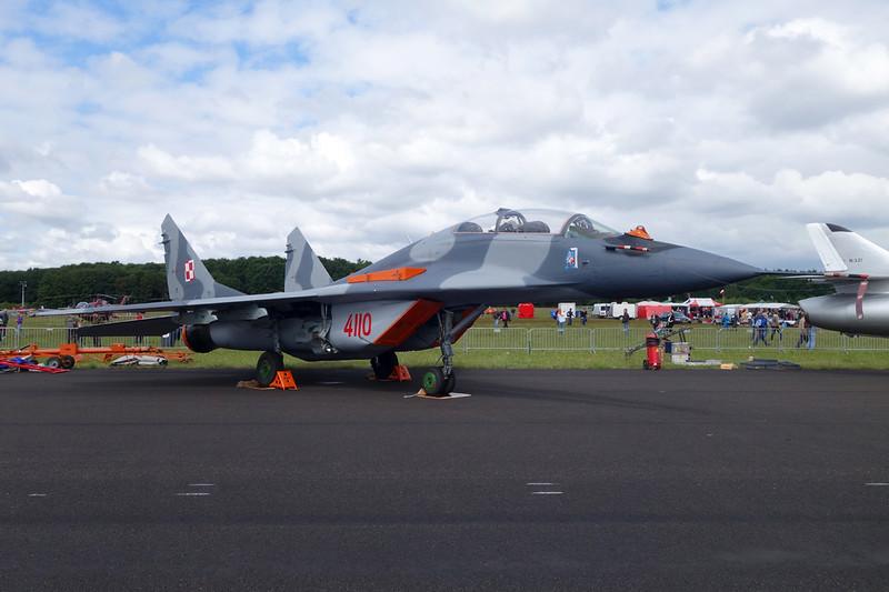 "4110 Mikoyan-Gurevich MiG-29GT ""Polish Air Force"" c/n N50903006448 Gilze-Rijen/EHGR 20-06-14"