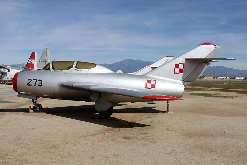 273 Mikoyan-Gurevich MiG-15UTI c/n 712273 March (M)/KRIV/RIV 27-01-18