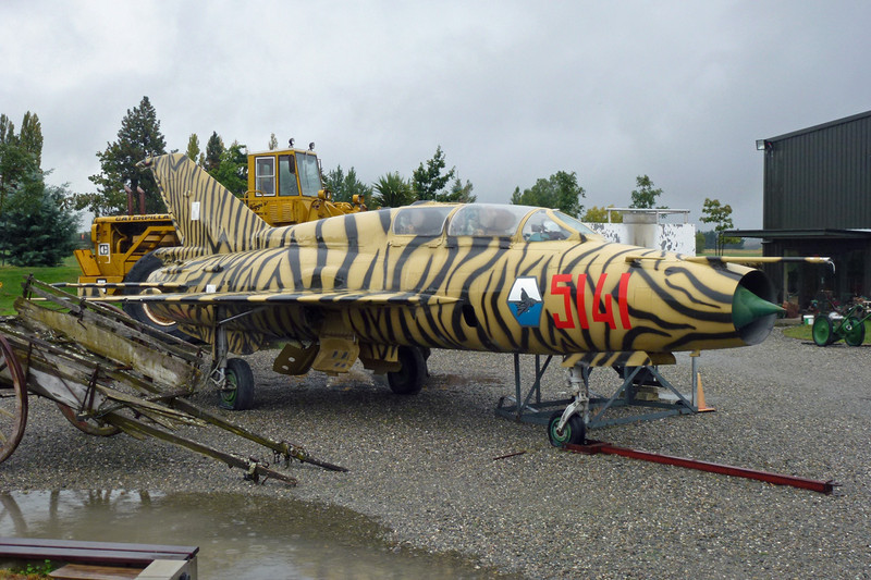 """5141 Mikoyan-Gurevich MiG-21US """"Polish Air Force"""" c/n 01685141 Wanaka/NZWF/WKA 24-03-12"""