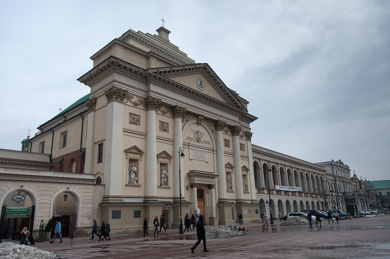 St. Anne's Church in Warsaw, Poland