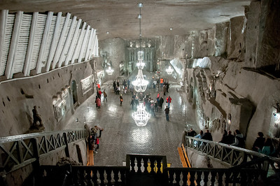 The Chapel of St. Kinga in the Wieliczka Salt Mine - Poland
