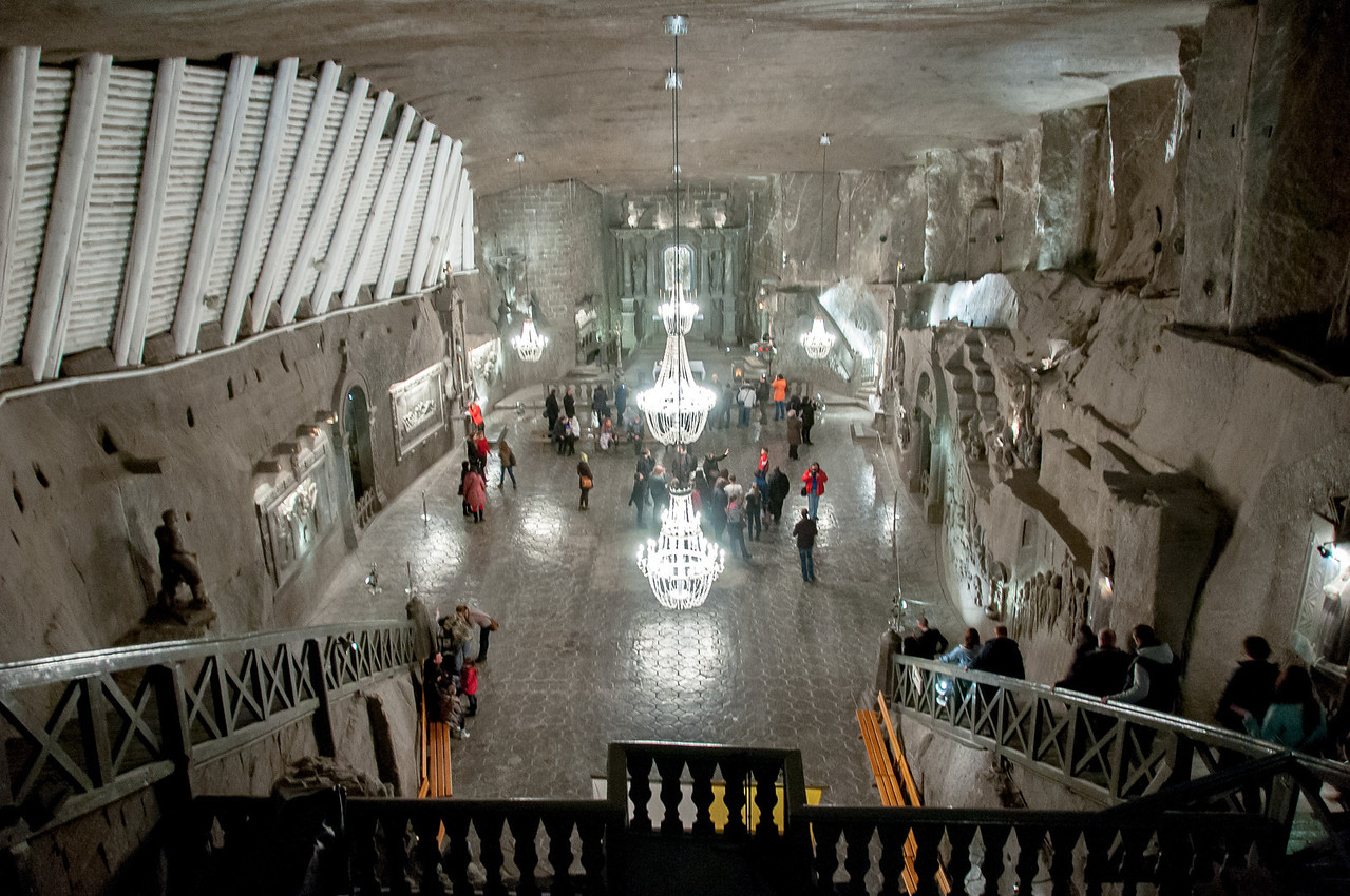 The Chapel of St. Kinga in the Wieliczka Salt Mine - Poland
