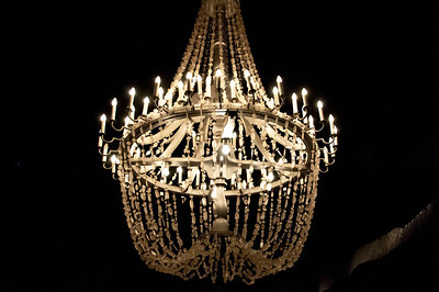 Chandelier at the St. Kinga Chapel in Wieliczka Salt Mine - Poland