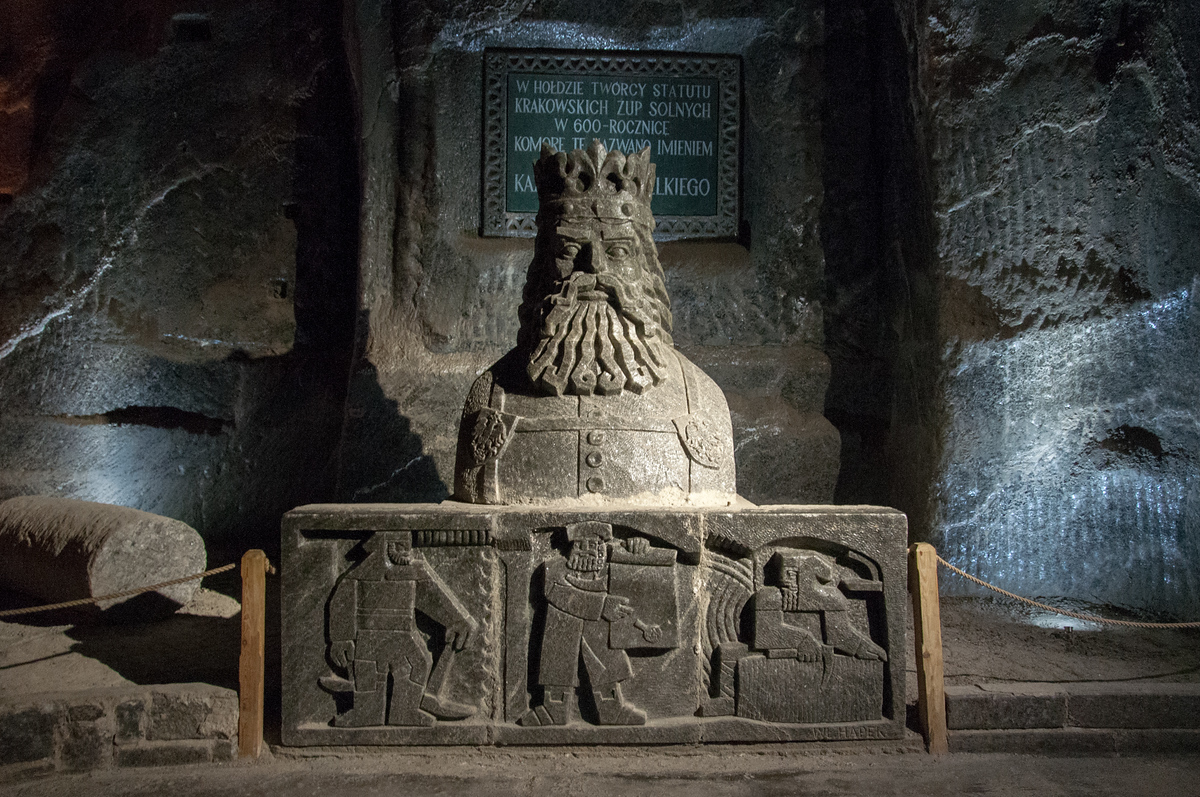 UNESCO World Heritage Site #201: Wieliczka Salt Mine