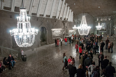 The St. Kinga Chapel in Wieliczka Salt Mine - Poland