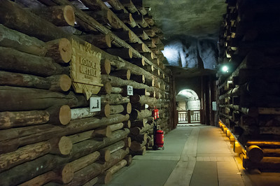 Inside the Wieliczka Salt Mine in Poland