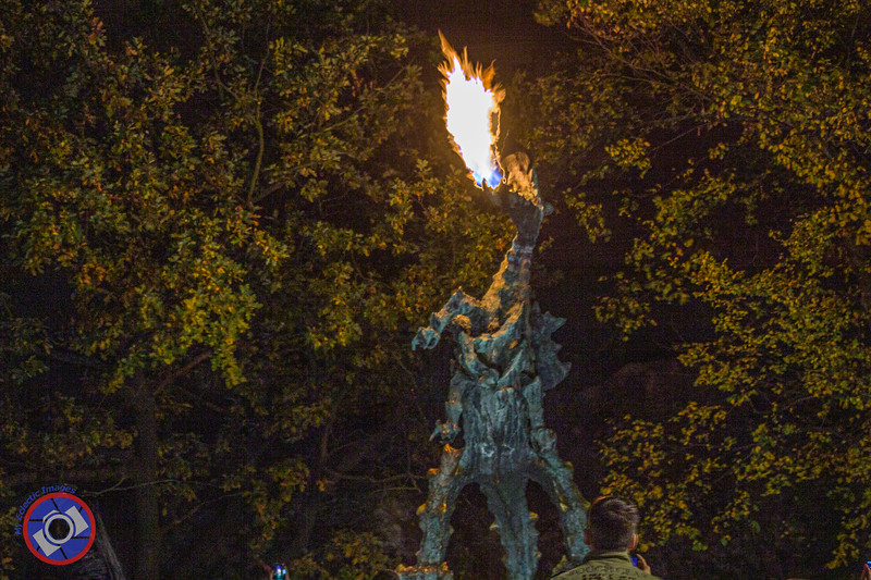 Best Seen at Night, the Fire-Spewing Dragon on the River Walk Below Wawel Castle (©simon@myeclecticimages.com)