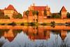 Malbork Castle, Malbork, Poland.