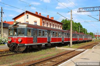 121-374 departs Rzepin, Poland      16/05/13