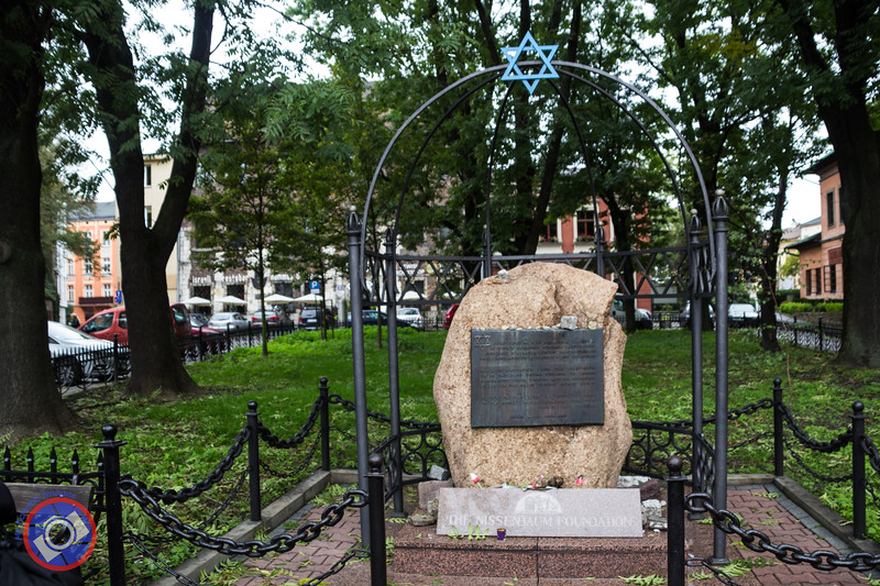 A Monument Commemorating the Thousands of Jews from Krakow Exterminated During the Nazi Regime (©simon@myeclecticimages.com)