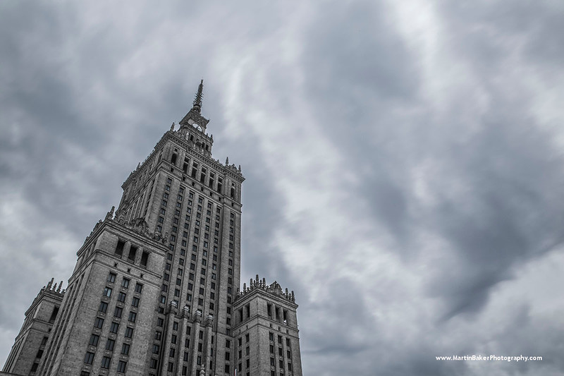 Palace of Culture, Warsaw, Poland.