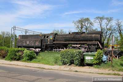 Steam Loco in Rzepin Station, Poland  16/05/13