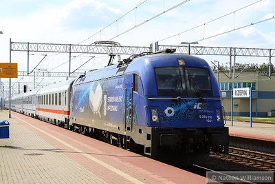 370-010 arrives into Rzepin, Poland      16/05/13