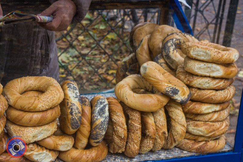 The Ubiquitous Bagel in Krakow (©simon@myeclecticimages.com)