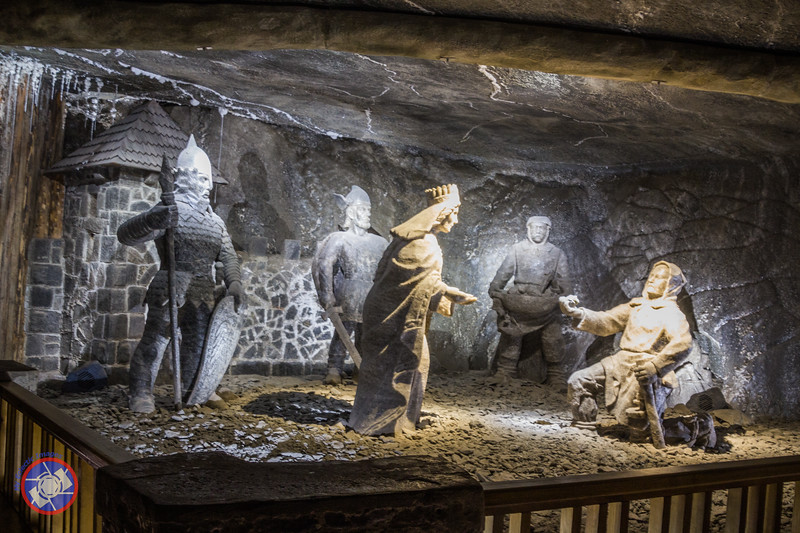 A Chamber with Carved Figures in the Wieliczka Salt Mine (©simon@myeclecticimages.com)