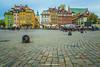Plac Zamkowy, Warsaw, Poland.