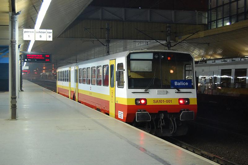 SA101-001 at Krakow.
