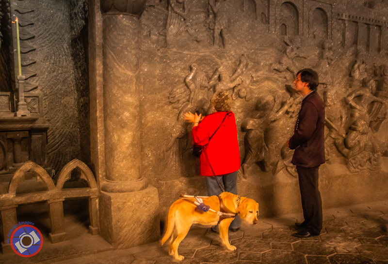 Slaughter of the Innocents a Carving in the Chapel of St. Kinga in the Wieliczka Salt Mine (© simon@myeclecticimages.com)
