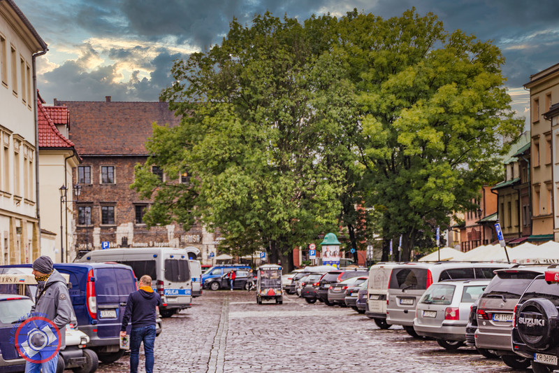 The Main Square in Kazimierz, the Old Jewish Quarter of Krakow (©simon@myeclecticimages.com)