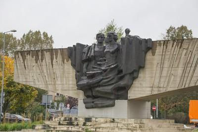 Statue in Krakow, Poland