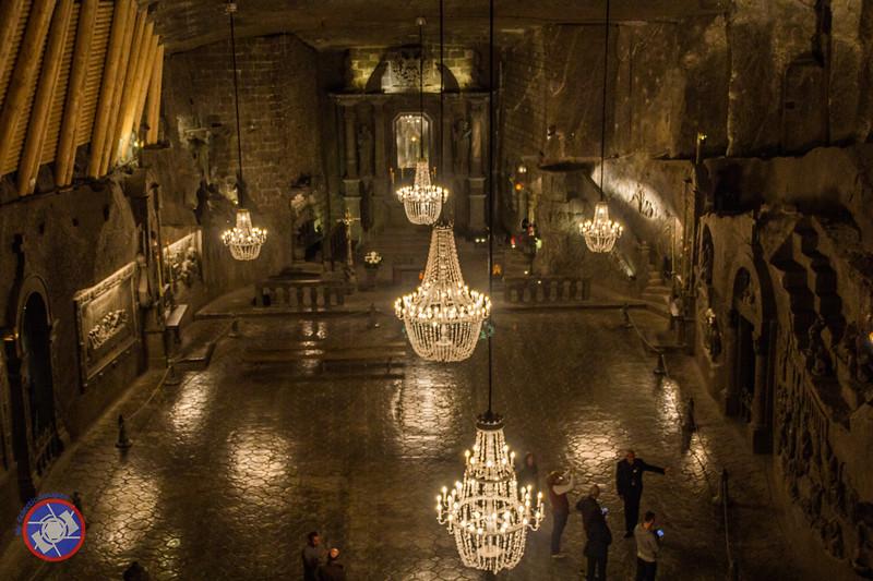 Chapel of St. Kinga 300 ft Underground in the Wieliczka Salt Mine (©simon@myeclecticimages.com)