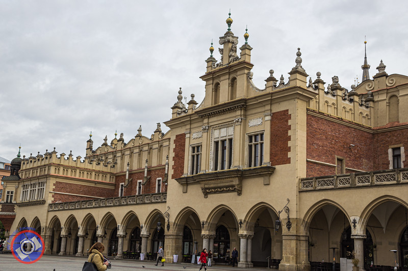 The Cloth Hall in the Main Market Square of Krakow (©simon@myeclecticimages.com)