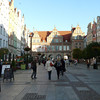 Strolling the streets in Old Town, Gdansk, Poland