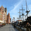 Walking the Esplanade in Gdansk, Poland