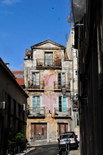 Lisbon street scenes.