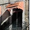 Typical window in the Bairro Alto area of Lisbon