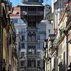 The elevator of San Justa, Lisbon