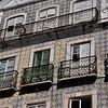 Lisbon street scenes - an example of the myriad of beautifully tiled buldings
