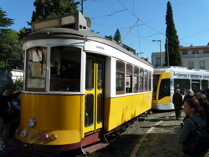 Lisbon trolley car