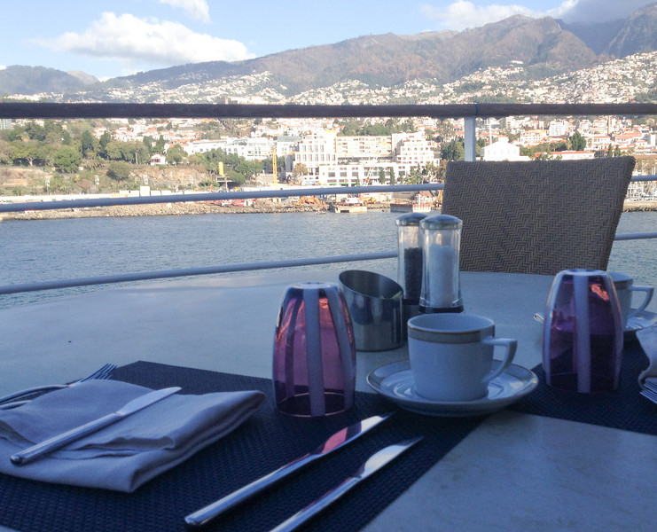 Breakfast in Funchal, Madeira